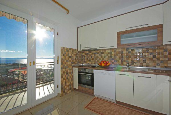 Küche mit Ausblick